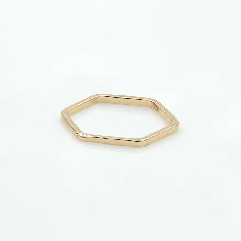เหลี่ยมปรับแหวนเงินทองลักษณะ Knuckle แหวนให้