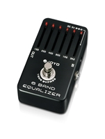 JOYO 6 Band Guitar EQ Pedal Equalizer Adjust Low Middle High Frequency A Range Of 36dB