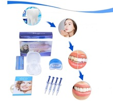 Professional Teeth Whitening Kit Bleaching System Bright White Smiles Tooth Whitening Kit with LED Light Oral Care Hygiene Tool