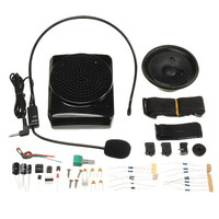 DIY Multi Functional Portable Waistband Amplifier Kit Special Loudspeaker With Shell Headset Microphone