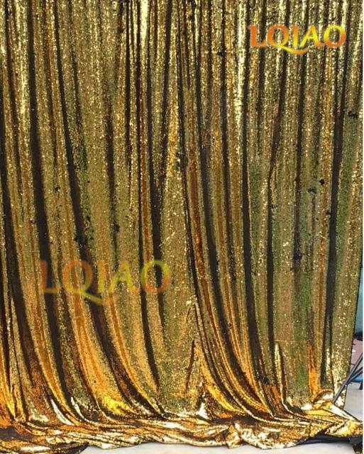 Reversible SEQUIN BACKDROP 4FTX6FT Gold Mermaid Sequin BackdropsParty Weddding Backdrops DecorationSequin Curtains