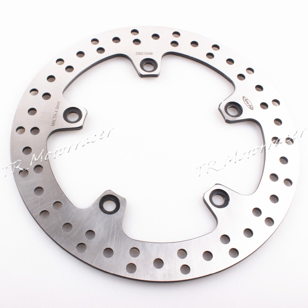 Motorcycle Rear Brake Disc Rotor For BMW F650GS 08-12 / HP2 06-09 / R1200RT 05-13 / R1200GS Accessories 5 holes rear brake disc rotor for bmw r 1200 gs 2013 2014