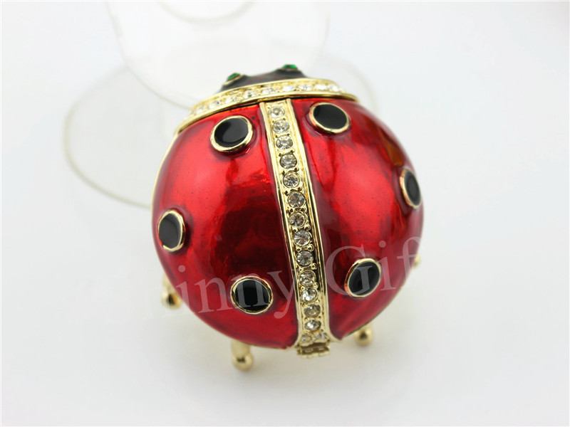 Small Colored Beetle Trinket Box Home Decorative Box Small Gifts Beatle Metal Box