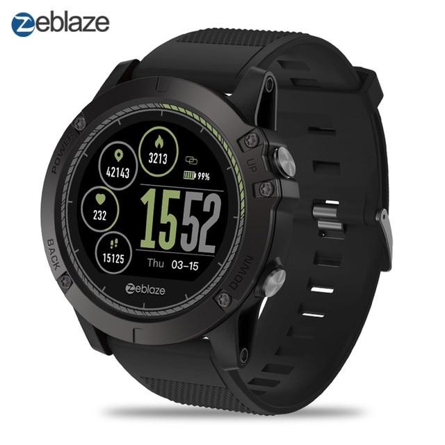Smartwatch Zeblaze VIBE 3 HR IP67 Không Thấm Nước Thiết Bị Đeo Heart Rate Monitor Pedometer Calorie Thể Thao Kỹ Thuật Số Đồng Hồ Thông Minh Người Đàn Ông