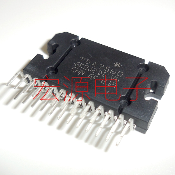2pcs/lot TDA7560 TDA7560 ZIP-25 Chip Is 100% Work Of Good Quality IC In Stock