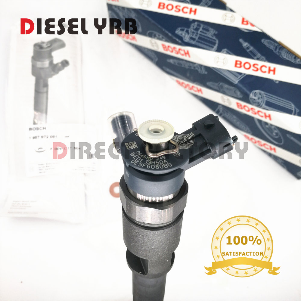 0445110249 WE0113H50A DIESEL COMMON RAIL INJECTOR for BT50 WE01 13 H50A