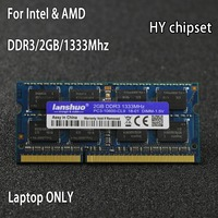 Original HY Chipset DDR3 2GB 2G 1333MHz 1600Mhz 1066Mhz 1333 PC3 10600S 2G Notebook Memory Laptop