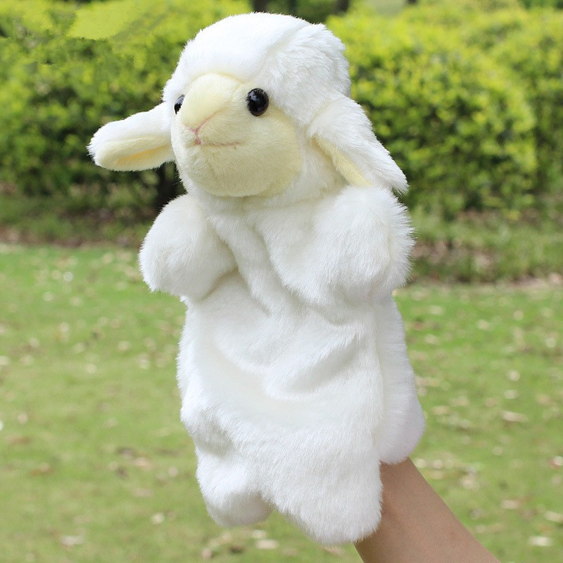 Animal-Plush-Hand-Puppet-Doll-Toys-Pig-Cat-Owl-Monkey-Dog-Rabbit-Shark-Bear-Puppet-Kids-Soft-Kukla-Toys-Marionnette-3