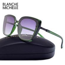 Chất Lượng Cao Mắt Mèo Kính Mát Nữ UV400 Oculos Quá Khổ Gương Kính Chống Nắng Người Phụ Nữ 2020 Kính Thương Hiệu Có Hộp Polarized Sunglasses Women