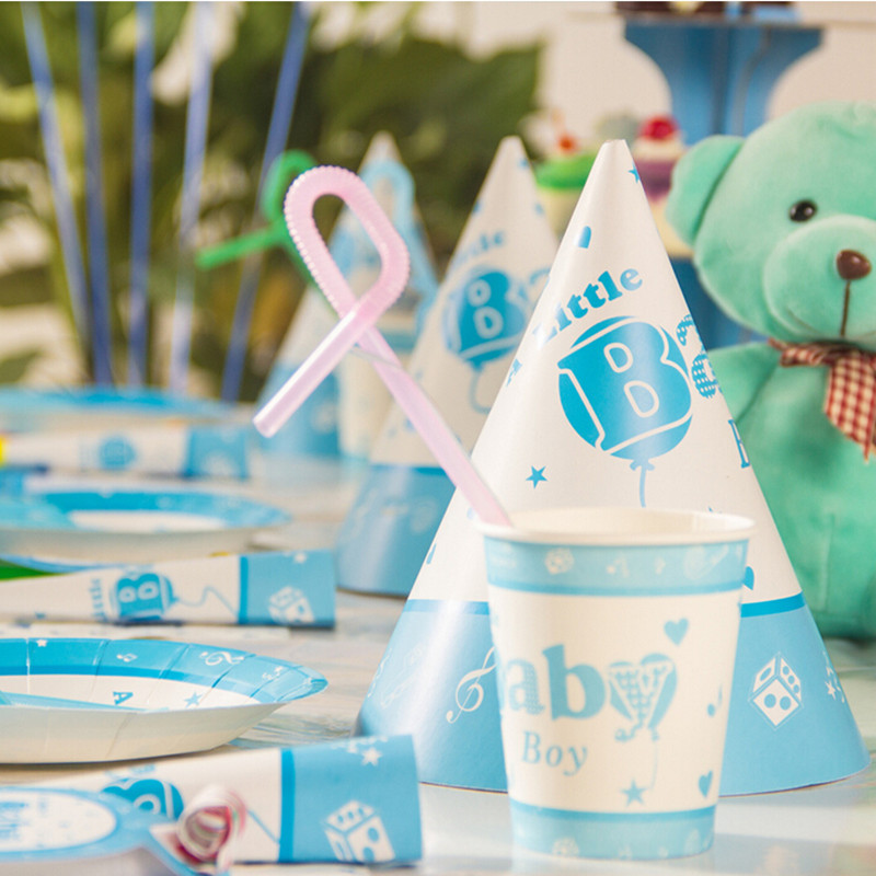 Baby Boy Birthday Party Decorations Kids Set Boys Themes Candy Box Happy Decoration Shower In Event From Home