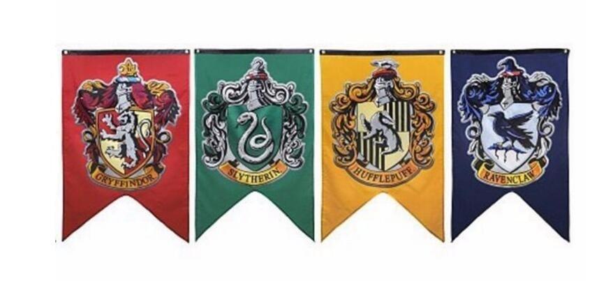 Achetez en gros harry potter drapeau en ligne des - Harry potter casas ...
