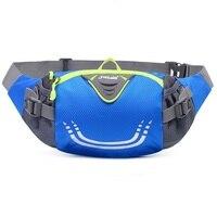 Unisex Outdoor Sports Waist Bags Gym Running Packs Cell Phone Belt Wallet Waterproof Nylon Anti Friction