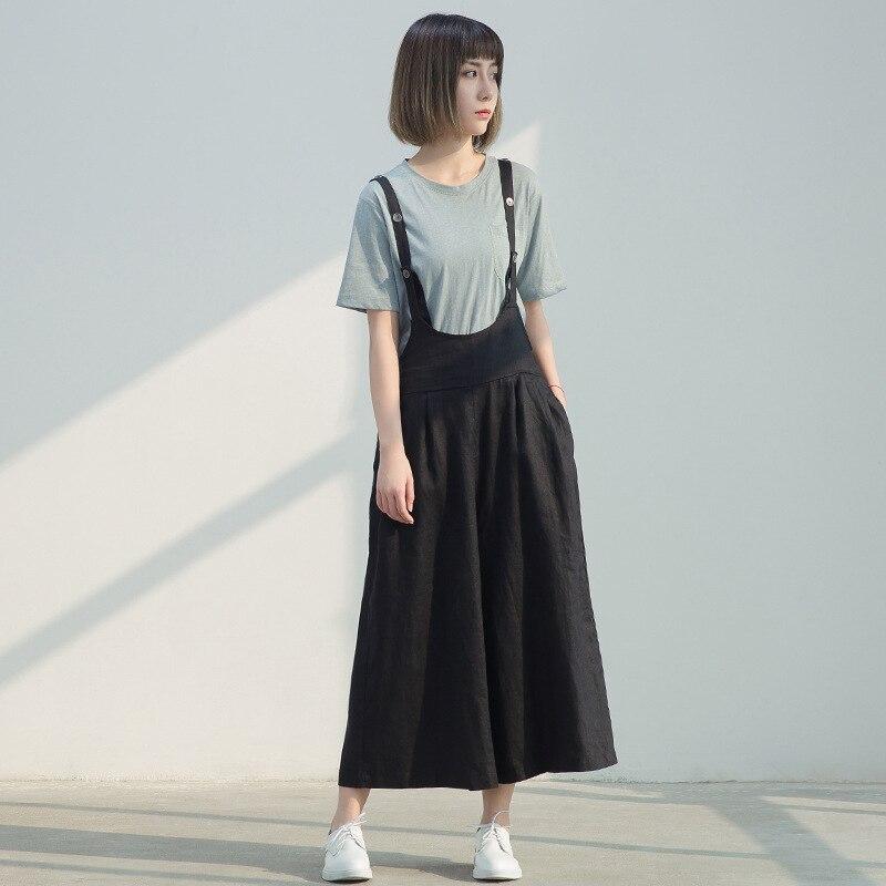 Female Brief Summer Trousers Black Big Size Women Pants Overall Pants Women's Trousers Wide Leg Pants Capris Pantalones