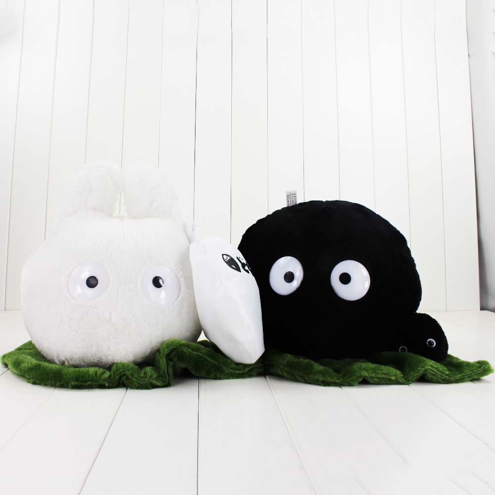 Aliexpress.com : Buy Big Size 25cm Totoro Plush Toy Black ...