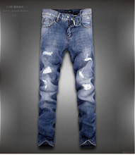 2015 fashion brand Blue Jean Famous Brand Men's Jeans high quality men pants clothing men jeans 28-36