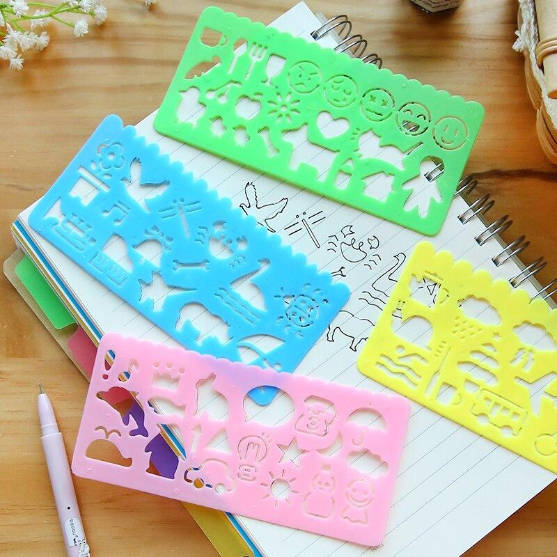 4pcs Set Cute Candy Color Drawing