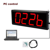 Wireless Calling Receiver Queuing System for Restaurant Waiter Nurse with PC Control 433MHz