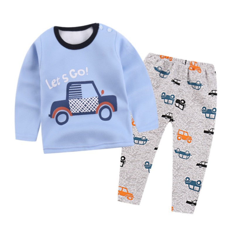 DemüTigen 2018 Kind Thermische Unterwäsche Unisex Baby Jungen Mädchen Lange Unterhosen Sets Kinder Pyjamas Anzug Kleidung 1-6 T