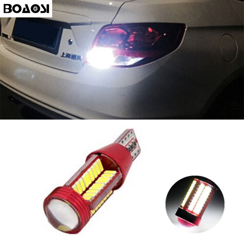 BOAOSI 1x Canbus Error Free T15 W16W 921 Car LED Lights Backup Reverse Lights for Chevrolet Cruze Malibu Epica CAPTIVA Equinox new generation all in one lower beam error free h7 hid lights for chevy malibu