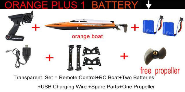 2.4G RC Boat UDI udi001 boat Infinitely variable speeds/high speed racing boat 32CM 25km/h Best Gift
