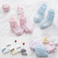 10 Pairs New Infant Baby Socks Kids Baby Boy Girl Cartoon Cotton Socks NewBorn Infant Ankle