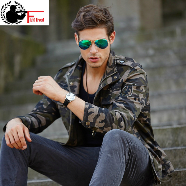 4a7a0433b64 2019 Camouflage Men Army Jackets and Coat Autumn Winter casual Military  Style Camo Male Outdoors Jacket Tactical Outfit Clothing