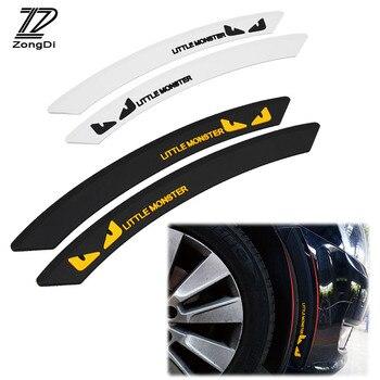 ZD Car Wheel eyebrow decorative Anti-collision Strip Sticker for Acura Chevrolet Cruze Aveo Peugeot 307 308 Seat Leon Mazda 3 6 peugeot 307 aksesuar