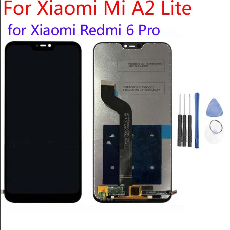 Aaa Quality For 584 For Xiaomi Mi A2 Lite Lcd For Xiaomi Redmi 6pro Redmi 6 Pro Lcd Screen Displaytouch Panel Digitizer Black