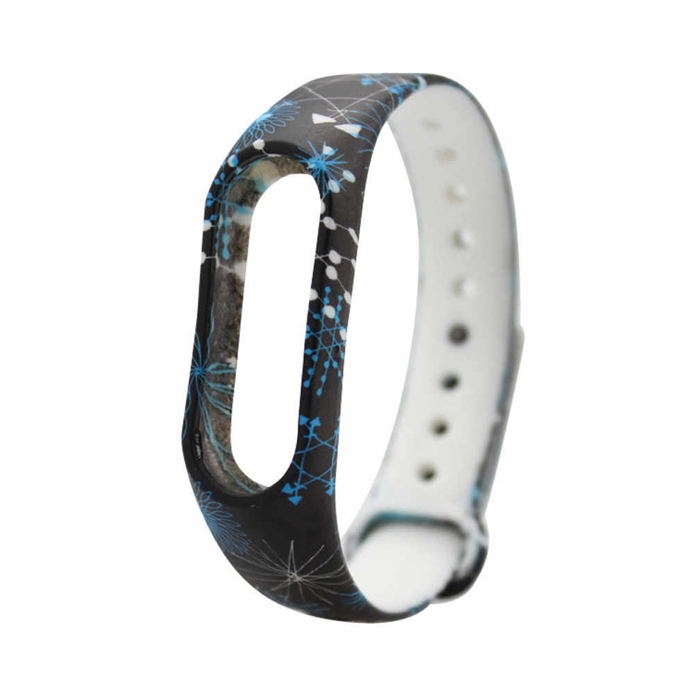 89a07ee2d ... OTOKY 21 Colors Replacement Silica Gel Wristband Band Strap For Xiaomi  Mi Band 2 Bracelet correa