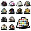 Fashion Neoprene 10 12 13 14 14.1 15.4 15.6 17 inch Laptop PC Portable Messenger Notebook Shoulder Strap Handle Bag Cases Bolsas