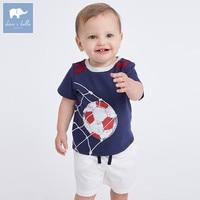 DBA6333 Dave Bella Summer Baby Boy S Clothing Sets Children Infant Toddler Suit Kid S High