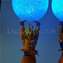 Dragon Ball Z Goku Spirit Bomb Led Night Lights Lamp (2 styles)