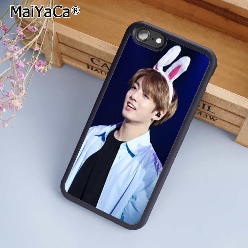 MaiYaCa bangtan boys Jungkook Phone Case Cover For iPhone 5 6s 7 8 plus 11 pro