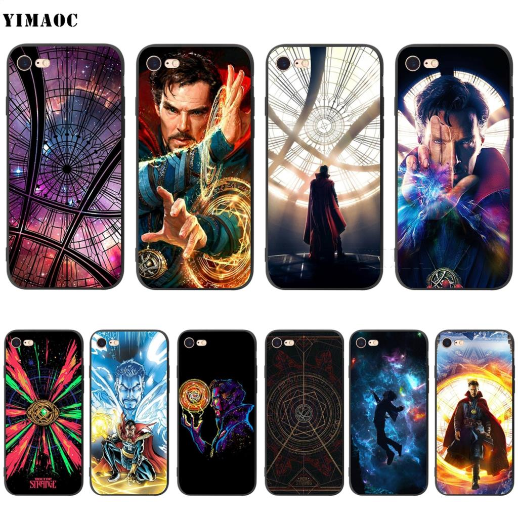 Phone Bags & Cases Babaite Dr Marvel Comics Doctor Strange Transparent Tpu Phone Case Cover For Iphone X Xs Max 6 6s 7 7plus 8 8plus 5 5s Se Xr Clear And Distinctive Half-wrapped Case