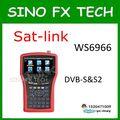 Бесплатная доставка DHL 4 3-дюймовый ЖК-Цифровой спутниковый finder satlink ws6966 спутниковый finder Sat-link WS-6966