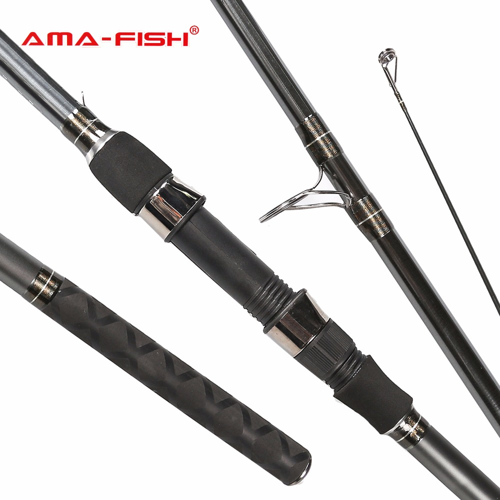 AMA-FISH Brand Rod ARES IM6 Primary Carp Feeder 3.6m Spinning Rod 3 Sections Carbon Rods M Action Spinning Fishing Rod