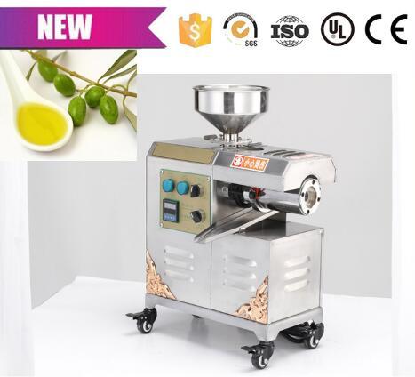 Livraison gratuite petit extracteur d'huile presse à olive machine presse à froid presse à huile colophane machine - 2