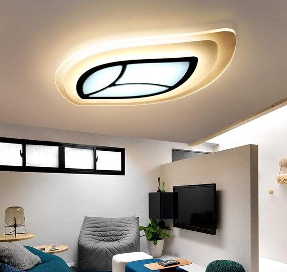 Moderní kreativní LED čirý akrylový stropní listový model - Vnitřní osvětlení