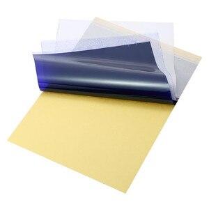 Image 4 - 100 arkuszy papier do transferu tatuażu papier do tatuażu w formacie A4 szablon termiczny papier do kopiarki węglowej do tatuażu