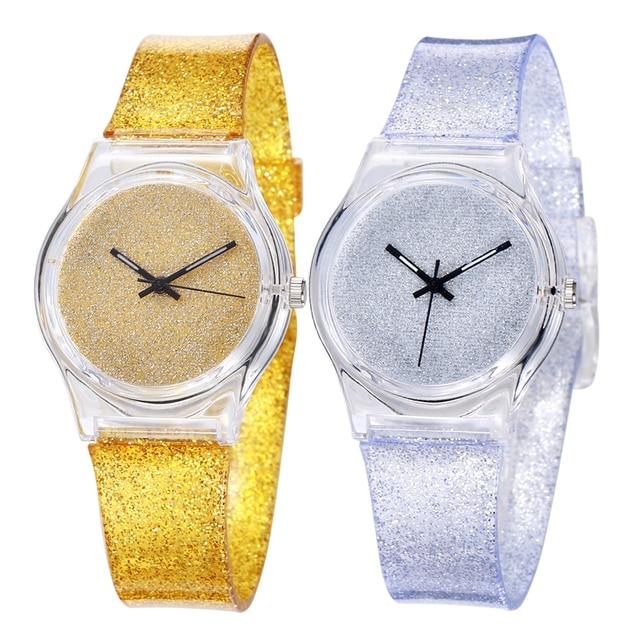 6aee4eabf Relógio Dos Desenhos Animados Da Menina do Menino à prova d' água Que Bling  Hour Relógio ...
