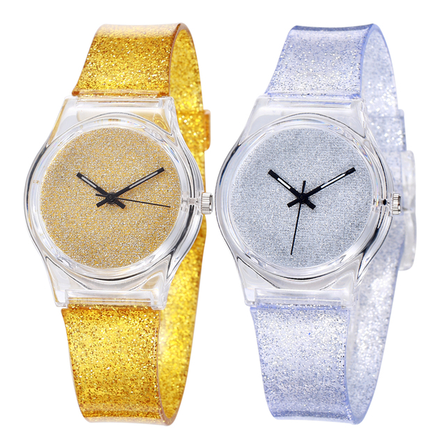 Waterproof Cartoon Watch Boy Girl Bling Hour Children's Quartz Baby Wrist Watch