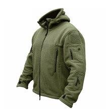 ZOGAA military uniform mens fleece tactical jacket outdoor Polartec lightweight breathable sports climbing