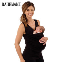 BAHEMAMI 4XL Maternity Pregnancy top summer Carrier Baby Holder T-shirt Cotton Baby Holder pregnancy clothes Maternity Tops