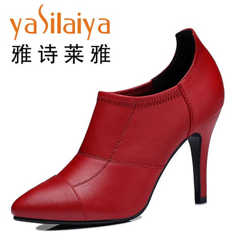 Deep Red Shoes Women Promotion-Shop for Promotional Deep Red Shoes ...