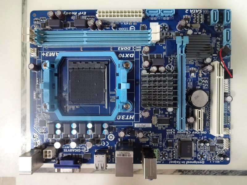 Original Motherboard For Gigabyte GA-78LMT-S2 Socket AM3+/AM3 DDR3 16GB 78LMT-S2 Desktop Motherborad Free Shipping