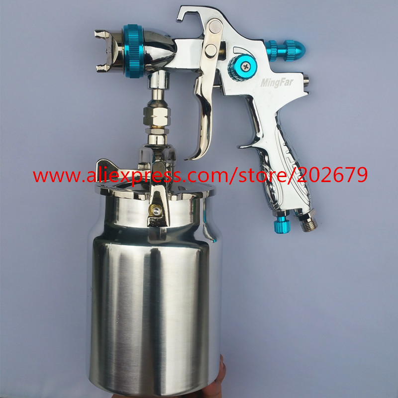 HVLP spray gun wood painting furniture paint gun M 300S 1 7mm nozzle size injection paint