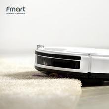 Fmart робот пылесос мини пылесос автомобильный пылесос сухая и влажная уборка мягкий бампер робот с аквафильтром HEPA  пылесос отзывы сенсорный экран бесплатная доставка со складов Росси E-R550W(S)