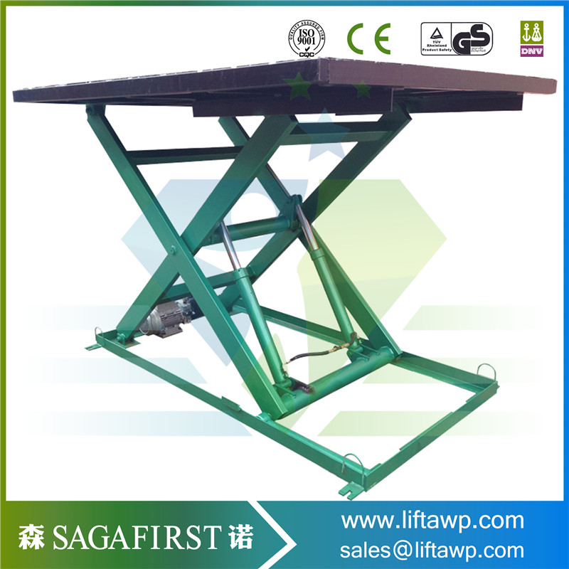 Electric Scissor Lift For Factory Use