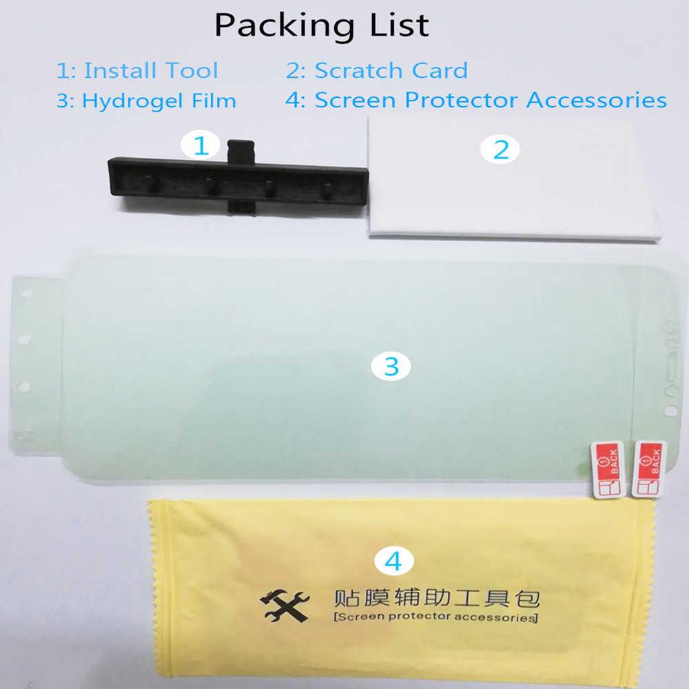 フル保護ソフトヒドロゲル Huawei 社 P30 プロメイト 20 Lite P20 プロ P30 画面保護フィルムのための 10 Lite 8X 7X V20