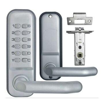 Teclado mecánico sin llave código Digital casillero inicio entrada seguridad puerta bloqueo 1715